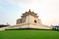 台北中正纪念堂侧面