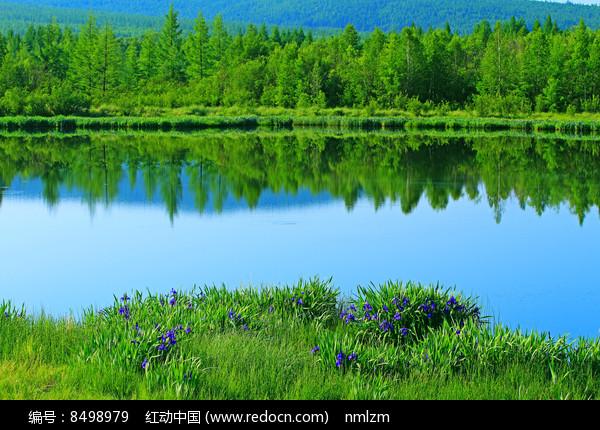 马兰湖风光图片