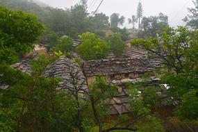 河南林州太行山里山村民居