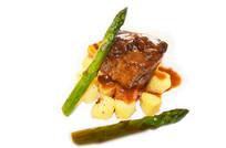 芦笋酱牛肉