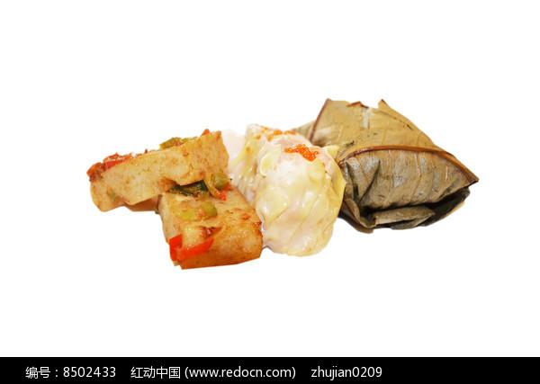 糯米鸡干蒸萝卜糕图片