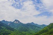 千山弥勒宝塔山峰山脉