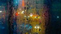 雨天过后的水滴纹背景