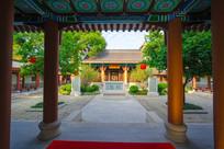 惠州丰湖书院内部景观