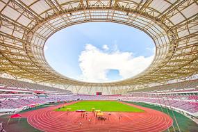 惠州奥林匹克体育场全景图