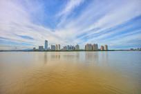 惠州市区建筑群全景