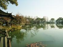 古典西湖园林风景