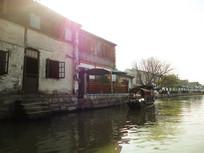 杭州西塘江南水乡风景