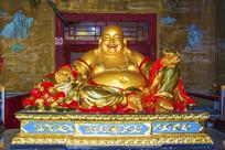 佛光寺大肚弥勒佛雕塑