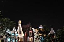 国外城市建筑夜景