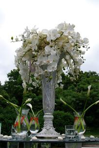 婚礼会务台花