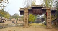风铃寨寨门老建筑景观