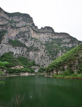 高山和湖泊风景摄影
