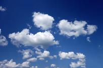蓝天白云风光