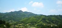 连绵山脉风景图片