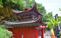 寺庙古建筑摄影图