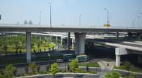 现代立交桥建筑