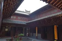 古建筑中的天井景观