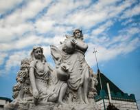 欧式喷泉雕塑