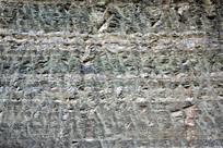 砂岩石墙面个性背景素材