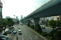 厦门的公路与高架桥