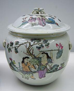 瓷罐收藏品高清图