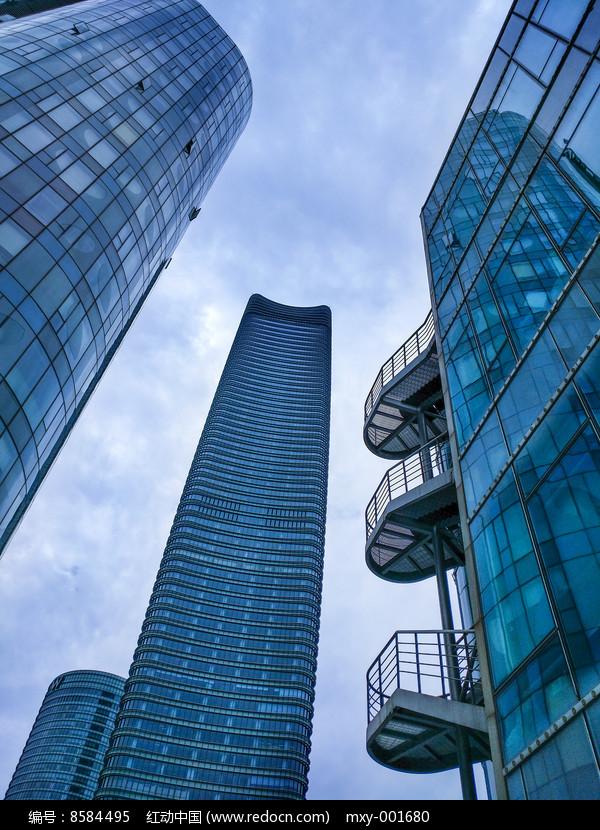 白玉兰广场大楼图片