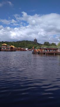 杭州西湖风景图片