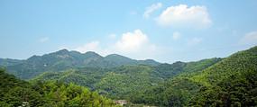 绿色群山风景摄影