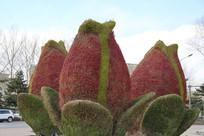 人造花朵绿植造型