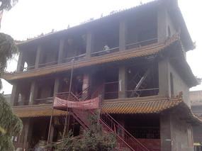三层古建筑
