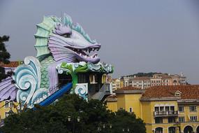 海滨卡通游乐园