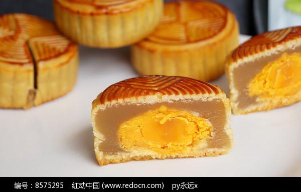 美味中秋月饼点心图片