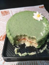 抹茶蛋糕芝士味蛋糕