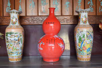 清朝花瓶瓷器图片