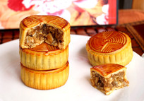 中秋节多个五仁月饼