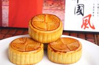 中秋节月饼叠层图
