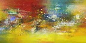 高清抽象油画壁画背景墙