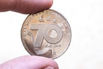 抗战胜利70周年纪念币