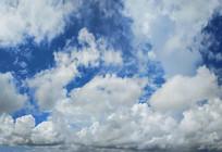 天空白云朵朵飘