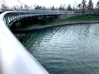 迪士尼小镇透明景观桥