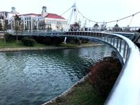 星愿湖景观桥