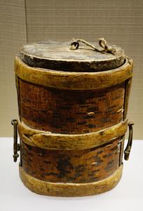 1936年西征红军桦树皮饭盒