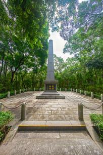 东征阵亡烈士纪念碑背面