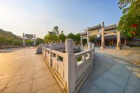 惠州丰湖书院侧面景色