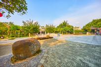 惠州丰湖书院景区广场