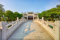 惠州丰湖书院景区桥梁