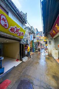 惠州惠新西街的海鲜店