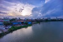 惠州西枝江沿岸景色