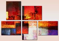 色块抽象艺术